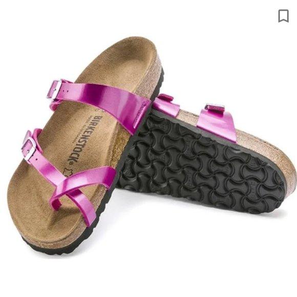 Birkenstock Mayari Sandal in Magenta *USED*